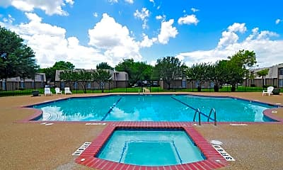Pool, University Club Apartments - Waco, 0
