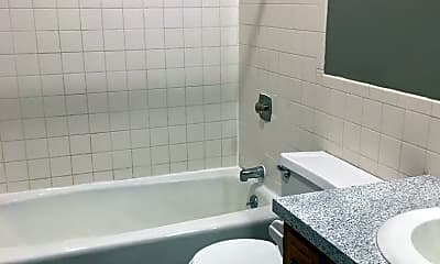 Bathroom, Roosevelt Apartments, 2