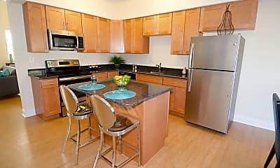Kitchen, Corner Park Apartments, 0