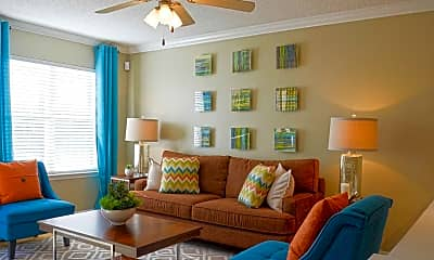 Living Room, Northlake Apartments, 1