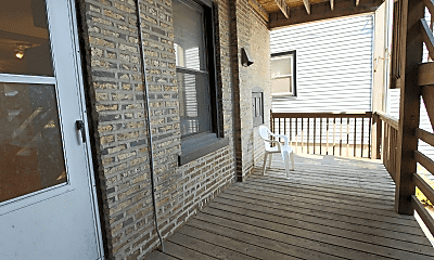 Patio / Deck, 2055 W Cuyler Ave, 2