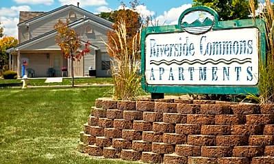 Community Signage, Riverside Common Apartments, 1