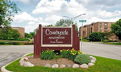 Community Signage, Countryside of Mount Prospect, 1