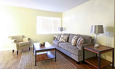 Living Room, Mill Creek Apartments, 1
