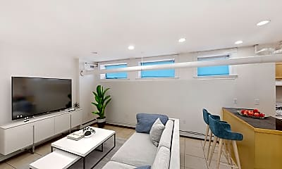 Living Room, 33 Walbridge Street, Unit 19, 0