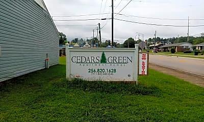 Cedars Green Apartments, 1