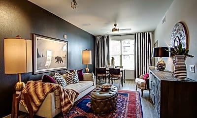 Living Room, Elevation, 1