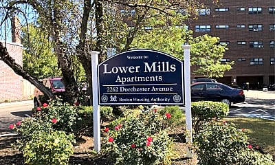 Lower Mills Apartments, 1