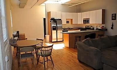 Kitchen, 441 Chapel St 1-D, 1