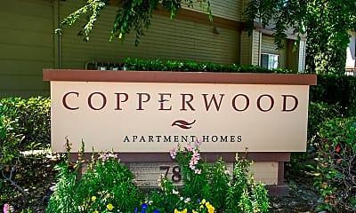 Community Signage, Copperwood Apartments, 1