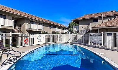 Pool, The Monrovia Apartment Homes, 0