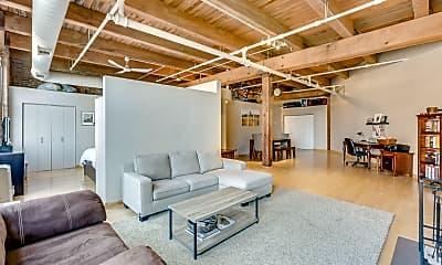 Living Room, 400 S Green St 306, 1