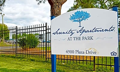 Community Signage, Serenity Apartments at The Park, 2