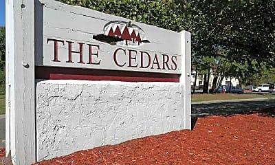 Community Signage, The Cedars, 1