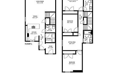 Bedroom, 1303 Bayfield St, 2