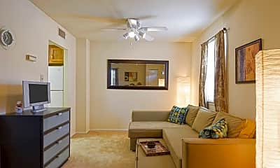 Living Room, Pottsgrove Townhomes, 1