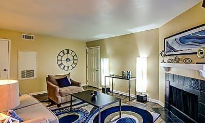 Living Room, Green Meadows Apartments, 1