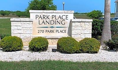 Community Signage, Park Place Landing, 2