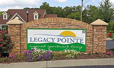 Community Signage, Legacy Pointe, 2
