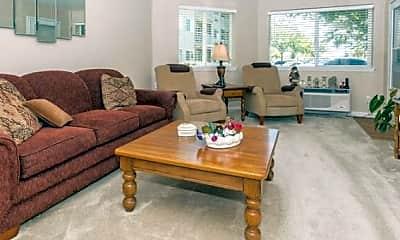 Living Room, Creekside Oaks Senior Living, 1