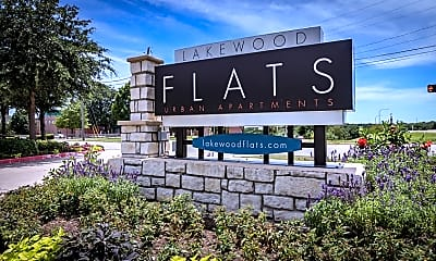 Community Signage, Lakewood Flats Apartments, 2
