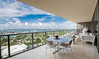 Patio / Deck, 9705 Collins Ave 2503N, 2