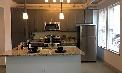 Kitchen, The Edge Apartments, 1