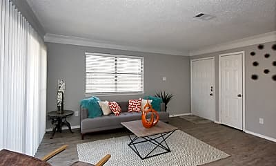 Living Room, Lake Creek Apartments, 1