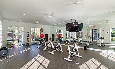 Fitness Weight Room, The Brooke by ARIUM, 0
