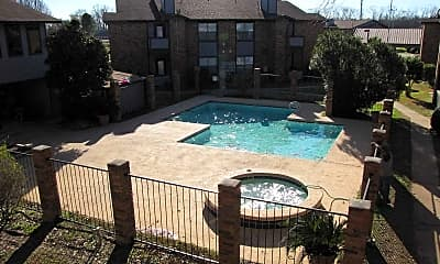 Pool, North Pointe Apartments, 2