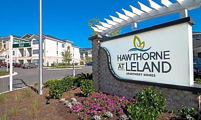 Community Signage, Hawthorne At Leland, 2