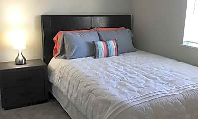 Bedroom, Oakdale Square Apartments, 2