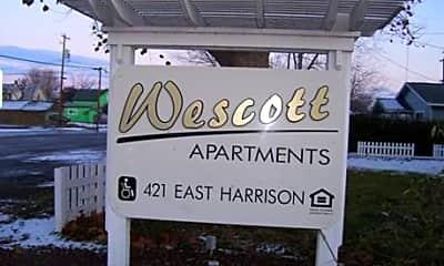 Wescott Apartments, 1