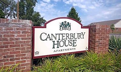 Community Signage, Canterbury House - Jackson, 1