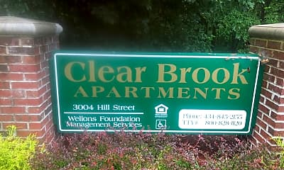 Clear Brook Apartments, 1