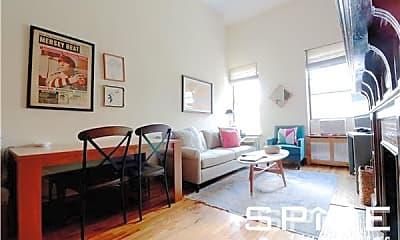 Living Room, 138 W 74th St, 1