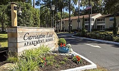Community Signage, Carrington Lane, 2