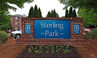 Community Signage, Sterling Park, 2