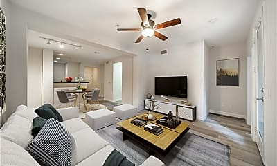 Living Room, 1801 E Katella Ave 1041, 1