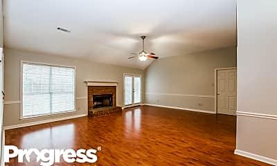 Living Room, 6604 Millgrove Park Dr, 1