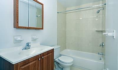 Bathroom, Hillcrest Apartments, 2