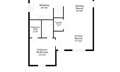 Building, 3429 Tinley Park Dr, 1