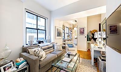 Living Room, 4 Lexington Ave 5-J, 0