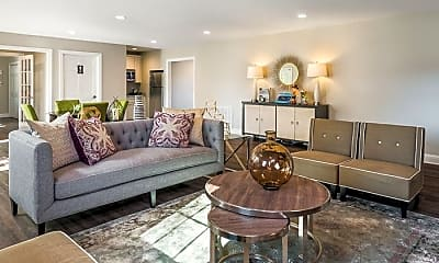 Living Room, Willowdaile Apartments, 0