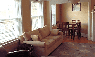 Living Room, 4665 N Manor Ave, 1