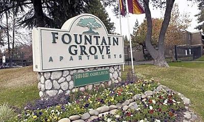 Community Signage, Fountain Grove, 2