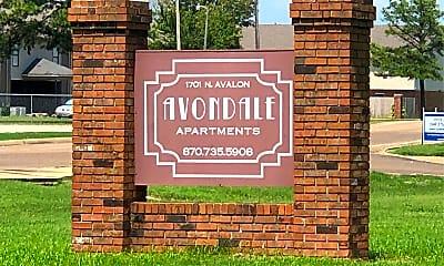 Avondale Apartments, 1