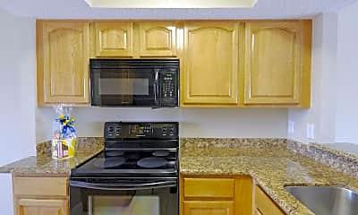 Kitchen, Harbour Pointe Apartment Homes, 1