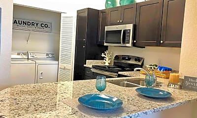 Kitchen, 700 Acqua Luxury Apartments, 1