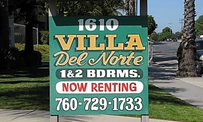Villa Del Norte, 1